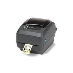 Zebra GK420t, termotransfer, 203dpi+printserver