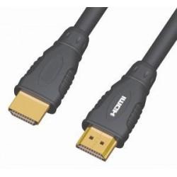 PremiumCord Kabel HDMI A - HDMI A M/M 20m,zlac.kon