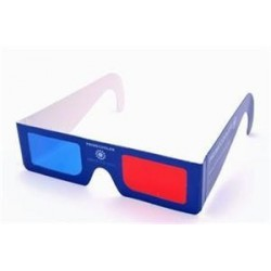 PRIMECOOLER PC-AD1 3D GLASS / 3D BRÝLE (red/blue)