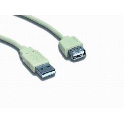 Kabel USB A-A 0,75m 2.0 prodl.
