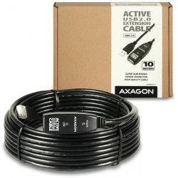 AXAGON USB2.0 aktivní prodlužka/repeater kabel 10m