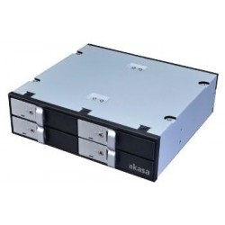 "AKASA Lokstor M22 - 4 x 2,5"" HDD rack do 5,25"""