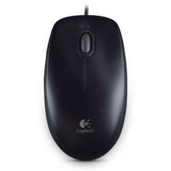 Myš Logitech B100 Optical USB Mouse, černá