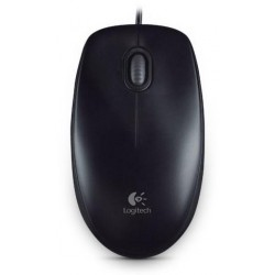 PROMO Myš Logitech B100 Optical USB Mouse, černá