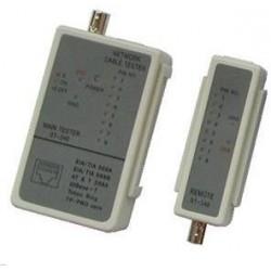 Cable Tester LED RJ 45 / BNC