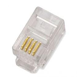 Konektor RJ10 4p4c bal.100ks