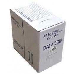 DATACOM FTP Cat5e PVC kabel 305m (licna) šedý