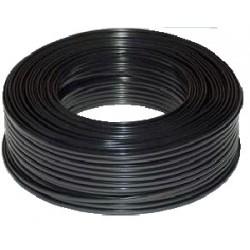 Telefonní kabel 6ž. Licna - plochý černý bal.100 m