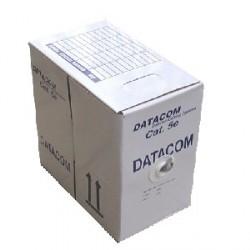 DATACOM UTP Cat5e PVC kabel 305m (licna) černý