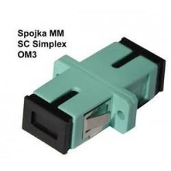 Optická spojka SC/PC multi mode 50/125 simplex OM3