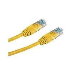 DATACOM patch cord UTP cat5e 3M žlutý