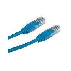 DATACOM patch cord UTP cat5e 0,25M modrý
