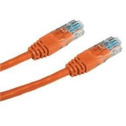 DATACOM patch cord UTP cat5e 1M oranžový