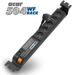 """19"""" napájecí panel Acar 5x220V-3m black+přep.ochr."""