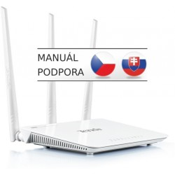 Tenda F303 Wireless-N 300Mbps WiFi Router, 3x5dBi