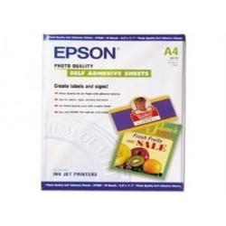 EPSON A4,Photo Quality Inkjet P. samolepící (10ks)