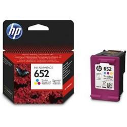 HP 652 3barevná ink kazeta, F6V24AE