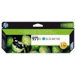 HP 971XL azurová inkoustová kazeta, CN626AE