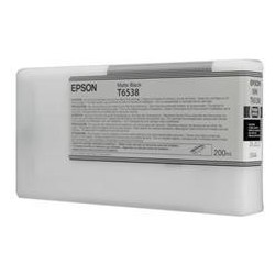Epson T6538 Matte Black Ink Cartridge (200ml)