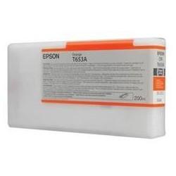 Epson T653A Orange Ink Cartridge (200ml)