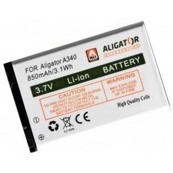 Aligator baterie A340/A310/A311/A320/V600 850 mAh