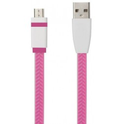 TB Touch Micro USB to USB Cable 1m, pink