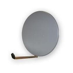 Satelitní parabola Gibertini 85 Al šedá