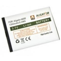 Aligator baterie A600, Li-Ion 1350 mAh