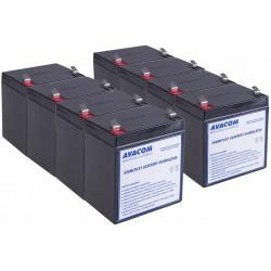Bateriový kit AVACOM AVA-RBC43-KIT náhrada pro renovaci RBC43 (8ks baterií)